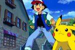 Ash Ketchum protagonista del cartone con Pikachu-ok