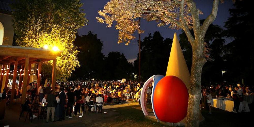 Aperitivo a milano mojo il giardino della triennale for Triennale a milano