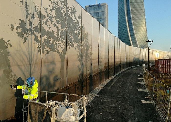 Murales CityLife eron