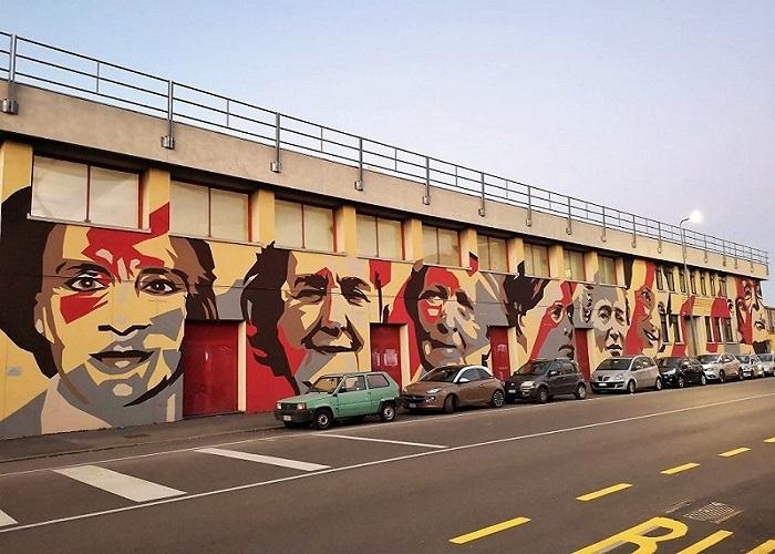 Murales Ortica Donne Milano