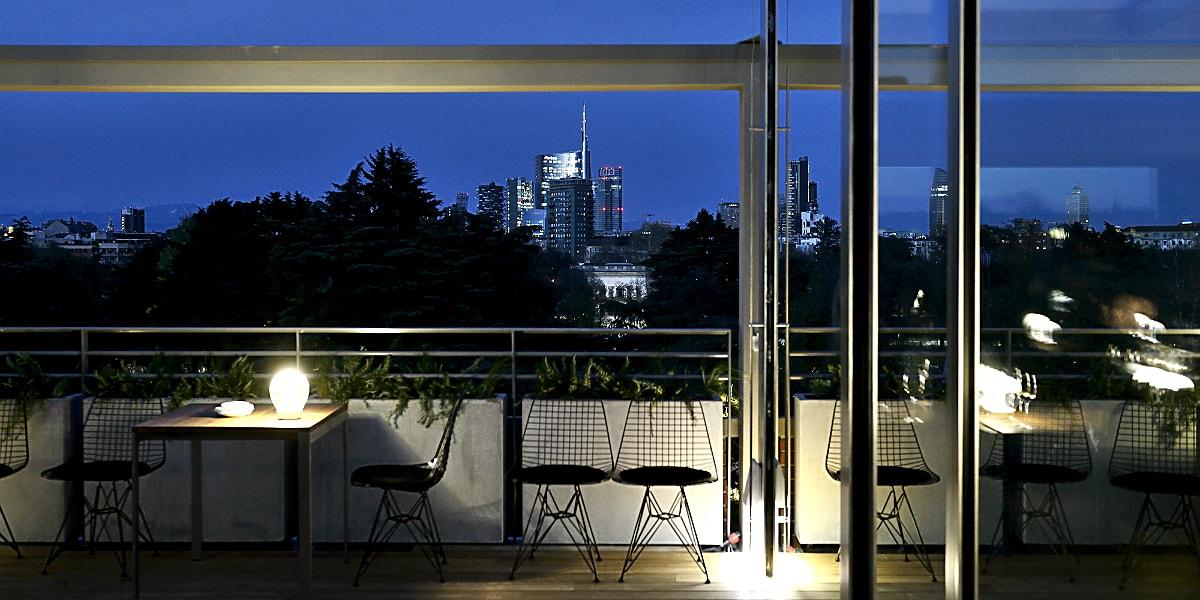 Terrazza Triennale - Osteria con Vista night