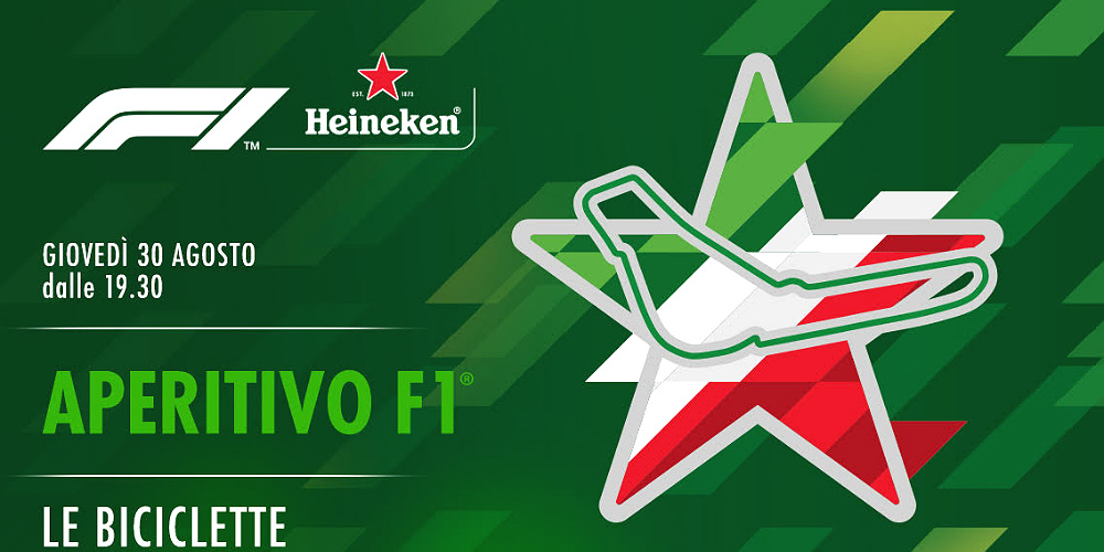 Aperitivo F1 By Heineken A Le Biciclette Mymiit