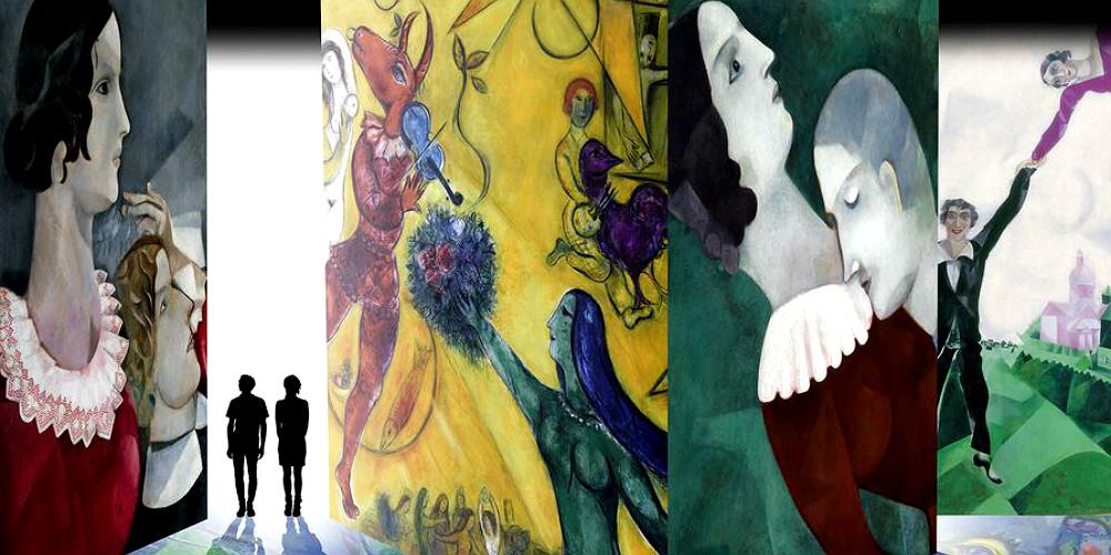 Chagall mostra-spettacolo Milano