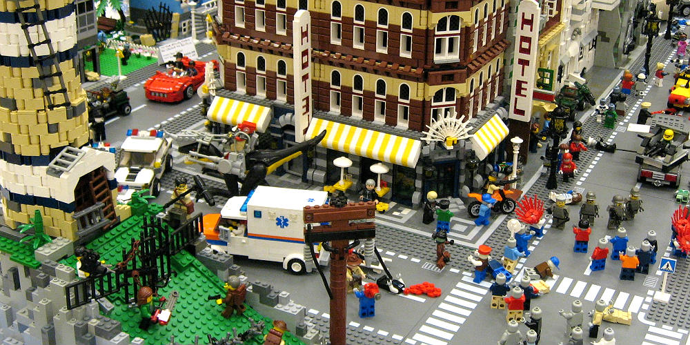 City Booming Milano Lego