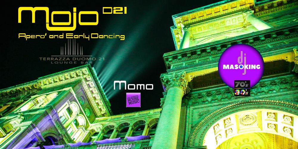 Mojo Terrazza Duomo21 Aperò And Early Dancing Mymi It