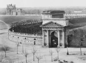 Arena civica e Arco della Pace nell'800